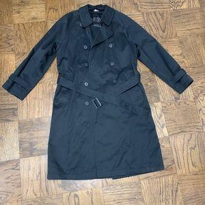 STAFFORD black trench coat 🧥